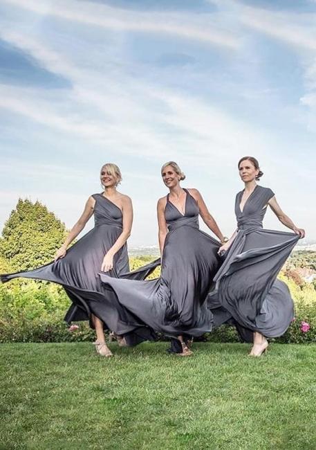 Dusty Gray Bridesmaid Dresses Cheap | Dresses for bridesmaids