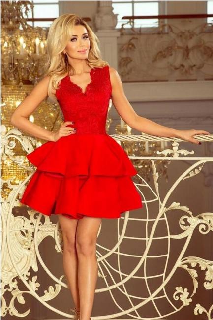 Rote Abendkleider Kurz | Abiballkleider Cocktailkleider Günstig