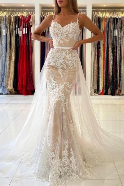 Beautiful prom dresses long white   Evening dresses lace cheap