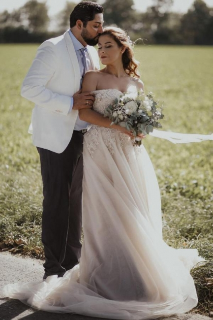 Boho Wedding Dresses A Line | Wedding dresses with lace