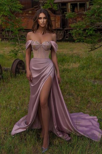 Elegant evening dress long pink   Prom Dresses Cheap Online