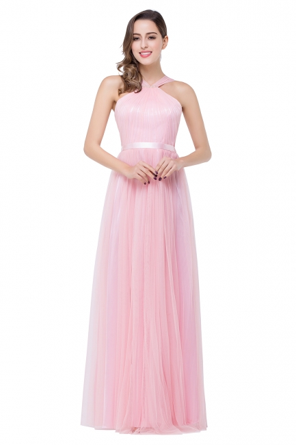 Evening dress long pink | Cheap prom dresses online