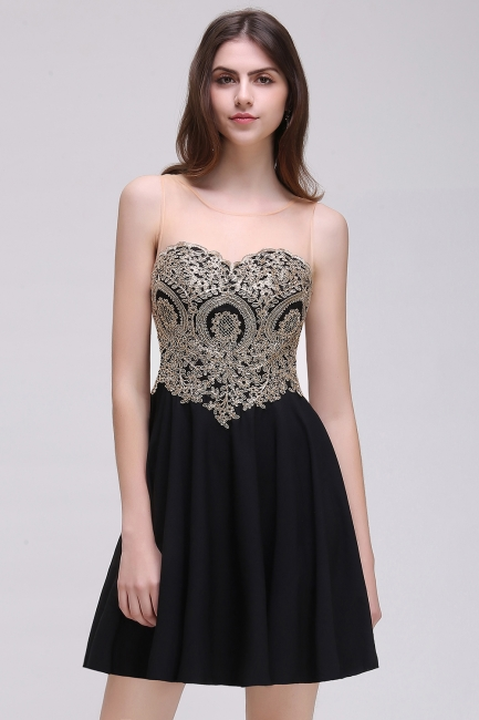 Elegant short evening dresses | Cocktail dresses black