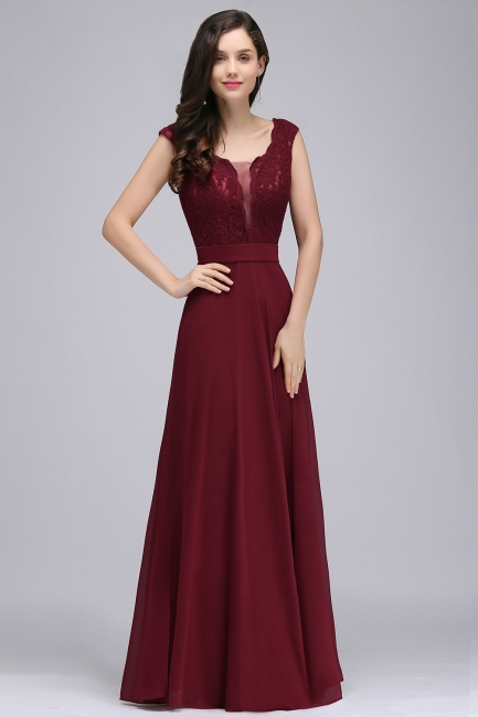 Cheap Evening Dresses Wine Red | Long glitter prom dresses