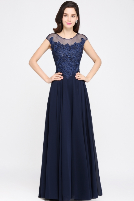 Elegant evening dresses long | Simple evening wear