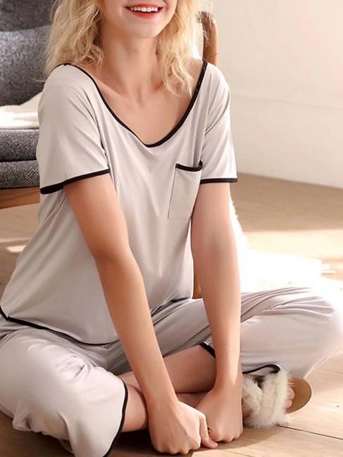 Terrycloth pajamas women | Maternity pajamas 2 pieces