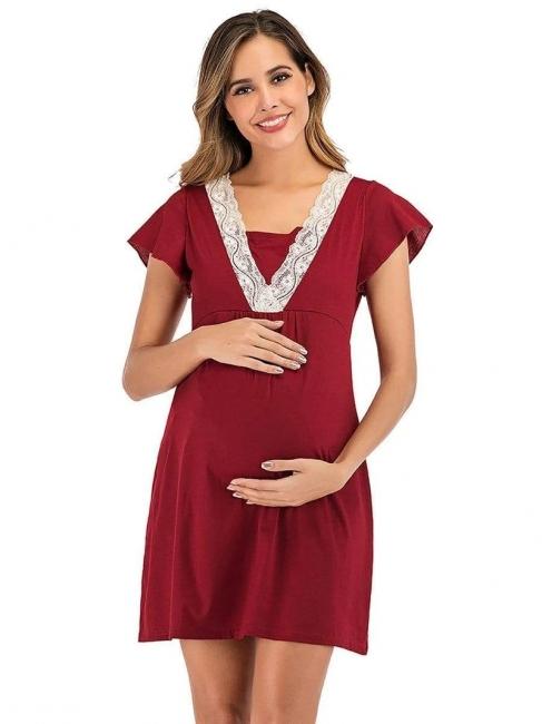 Kleider für Schwangere | Maxikleid Sommerkleider Schwanger