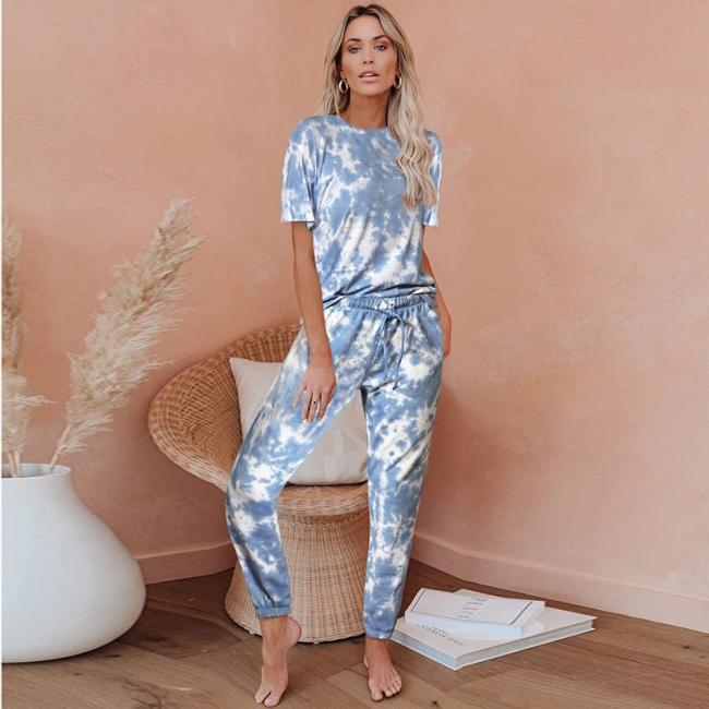 Gradient nightwear women | Schiesser pajamas 2 parts