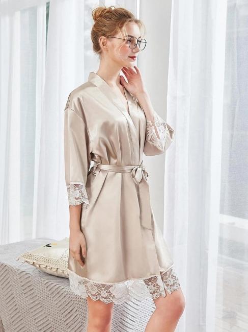 Satin Schlafanzug Damen Günstig | Schiesser Nachtwäsche Elegant