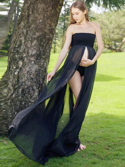 Schwarze Kleider für Schwangere | Festliche Kleider für Schwangere Günstig