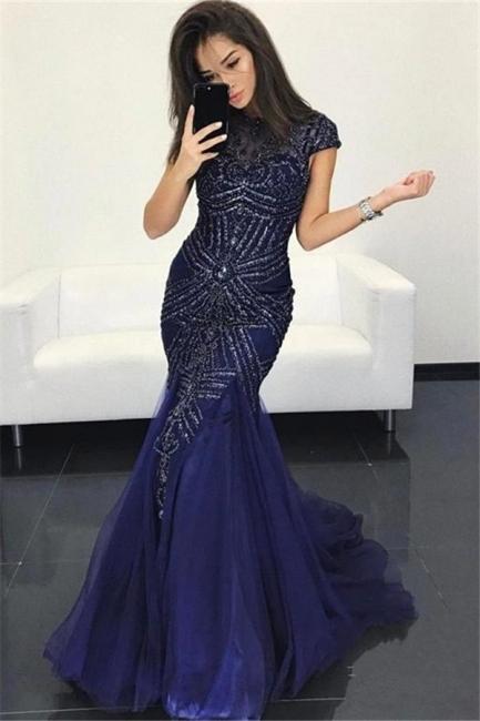 Elegante Abendkleider Lang Glitzer | Festtagskleider Günstig Online