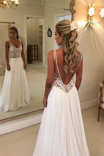 Schlichte Brautkleider Mit Spitze | Hochzeitskleid Online Kaufen