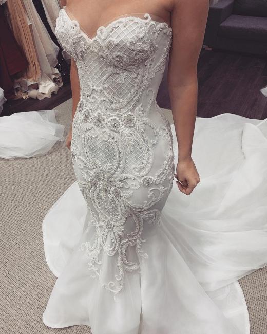 Günstige Hochzeitskleider Meerjungfrau   Brautkleid Online Kaufen