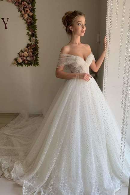 Beautiful wedding dresses princess | Wedding dresses tulle with lace