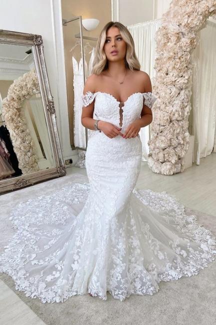 Designer Hochzeitskleider Meerjungfra | Brautmoden Spitze Online