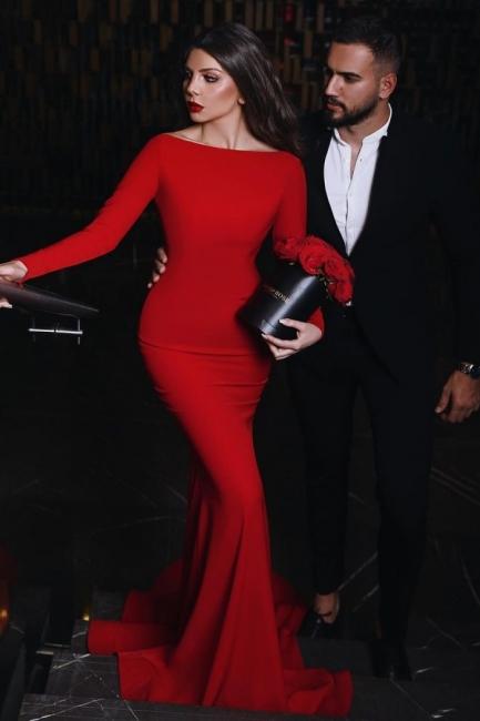 Rotes Abendkleid Lang | Elegante Abendkleider Günstig