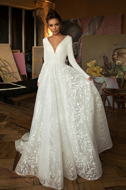 Wedding dresses cheap | Wedding dresses with sleeves