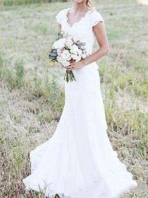 Designer wedding dress mermaid | Lace Wedding Dresses Cheap Online