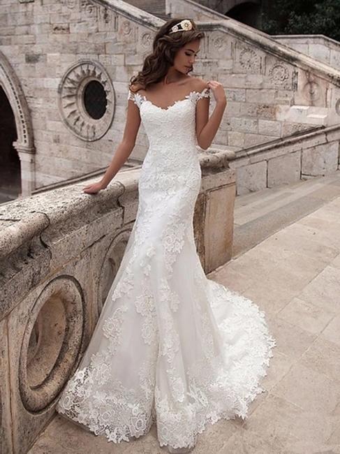 Wunderschöne Brautkleider Meerjungfrau | Spitze Hochzeitskleider Online