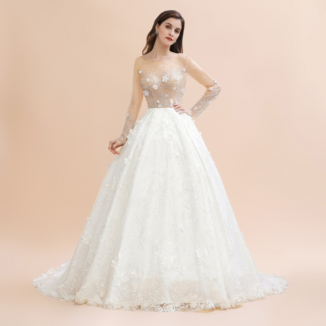 Princess wedding dresses with lace | Buy wedding dresses online