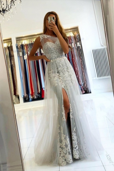 Elegant Evening Dresses Long Lace | Prom dresses glitter