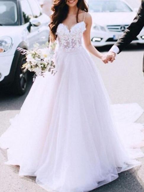 Designer wedding dress A line | Wedding dresses with lace online