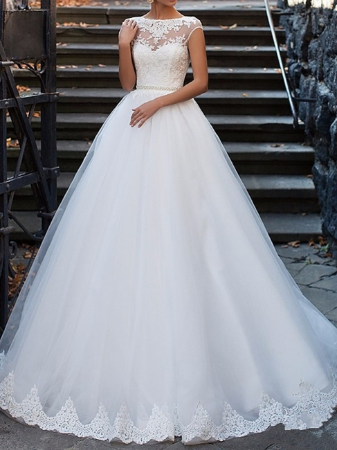 Sexy wedding dress A line | Vintage wedding dresses with lace
