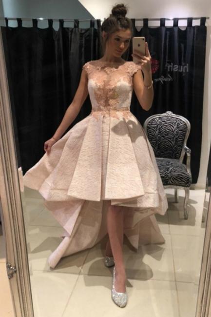 Lace prom dresses | Cocktail dresses short front long back