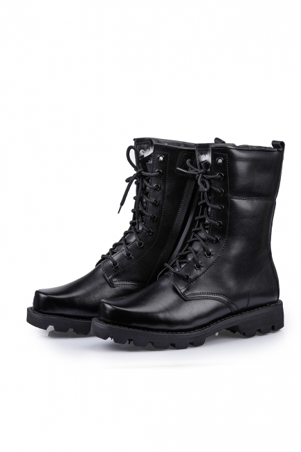 Savage Island Genuine Leather Boots Combat Boots Combat Boots with Zipper Military Bundeswehr Hiking Tactical Boot Brown Full Leather