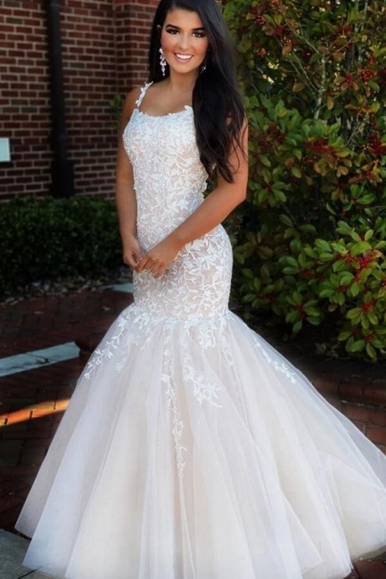 Elegant Evening Dress Long White | Prom dresses with lace