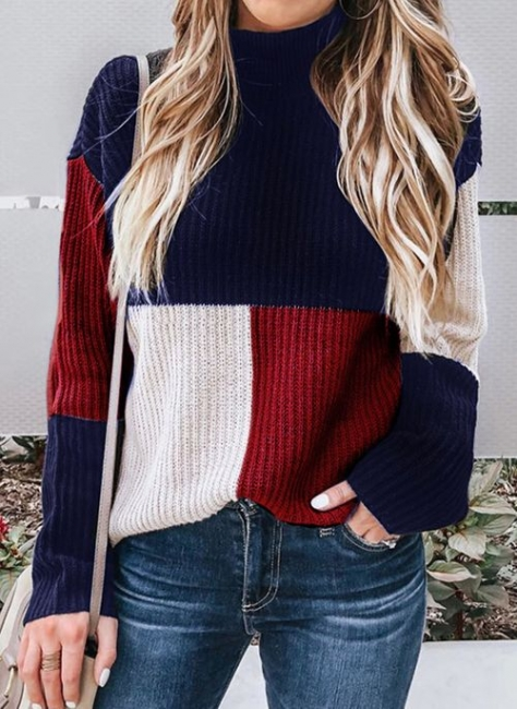 Fashion Strickpullover Damen | Sweatshirt Pullover Winter
