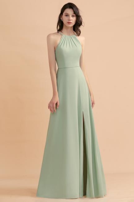 Brautjungfernkleider Lang Mint Grün   Kleider Für Brautjungfern