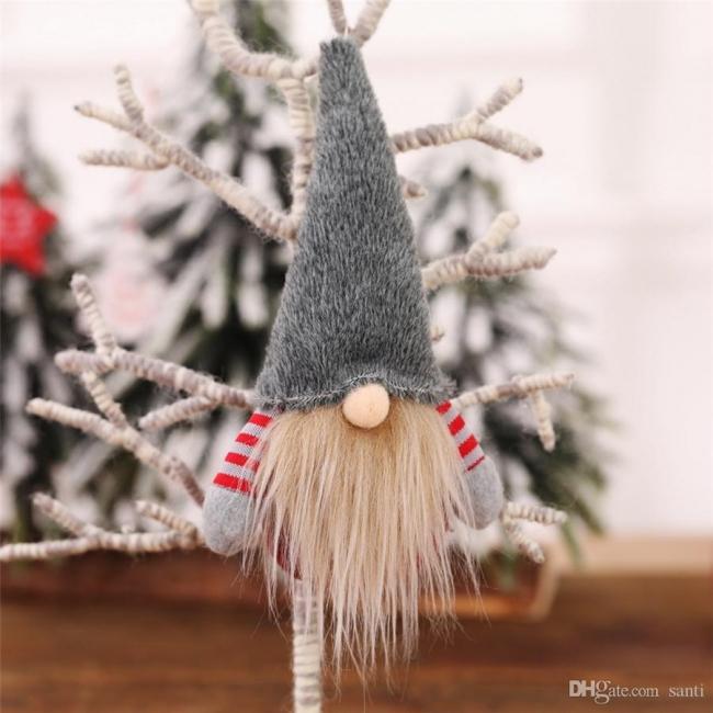 10 Stück Weihnachtsbaumschmuck Rot Ausgefallener Christbaumschmuck