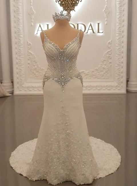 Fashion Brautkleider mit Glitzer | Hochzeitkleider Meerjungfrau Online