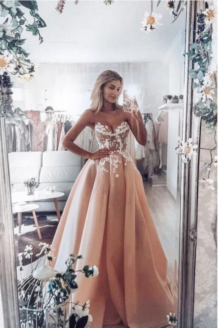 Fashion evening dresses long with lace | Prom dresses online cheap