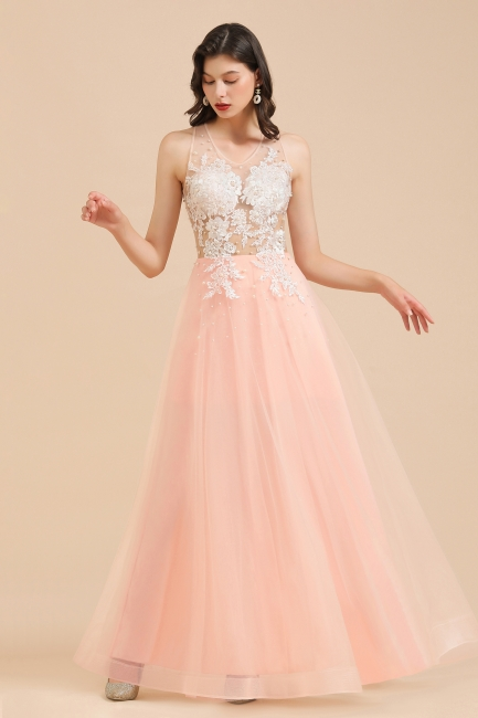 Designer evening dresses | Evening dress long pink