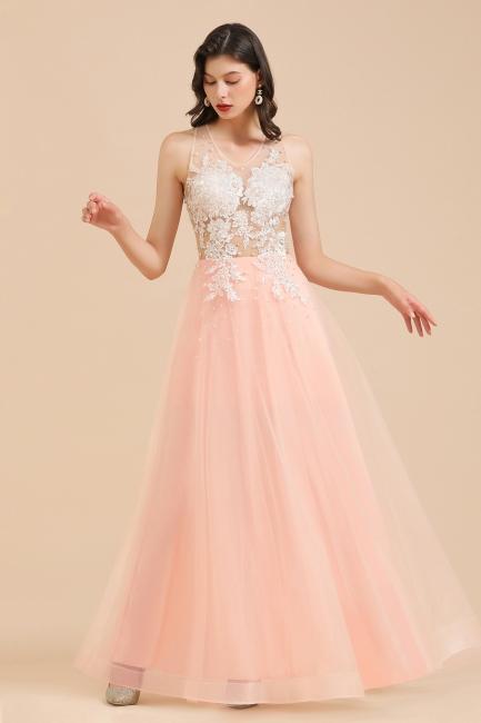 Designer Abendkleider | Abendkleid Lang Rosa