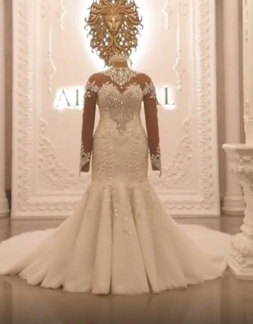 Brautkleider Mit Ärmel | Hochzeitskleider Meerjungfrau Prinzessin