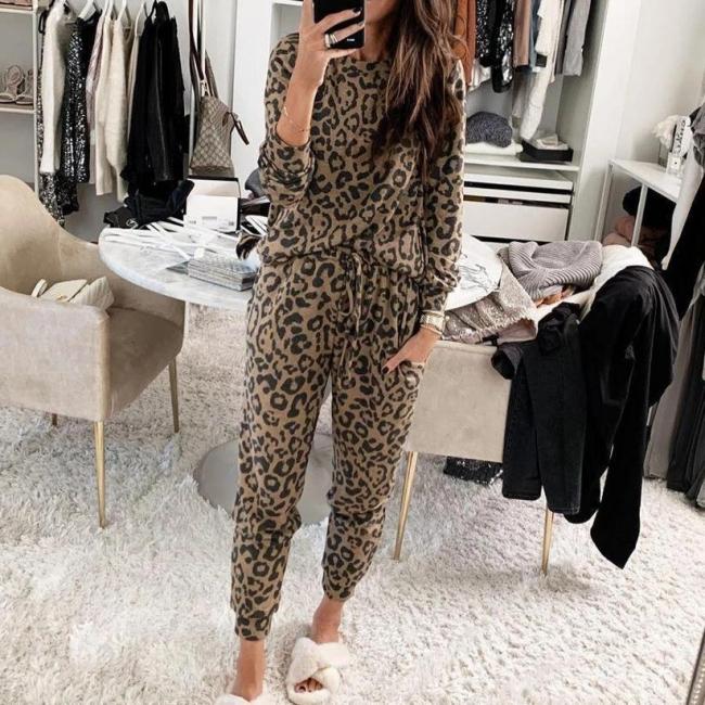 Schlafanzug Damen Leopardenmuster | Schiesser Pyjama Online Shop