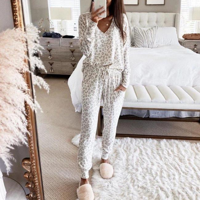 Damen Pyjama Winter | Langarm Schlafanzug Günstig