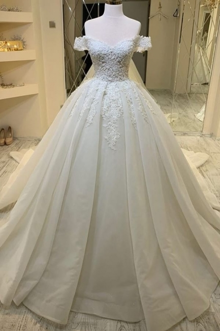 Elegant wedding dresses with lace | Wedding Dress A Line Online