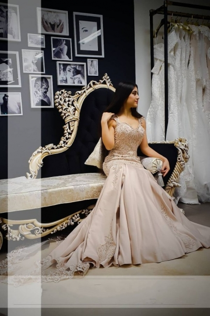 Extravagant evening dresses long | Prom dresses with lace