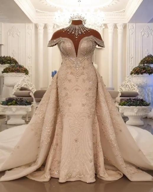 Vintage wedding dress A line lace | Wedding dresses luxury online