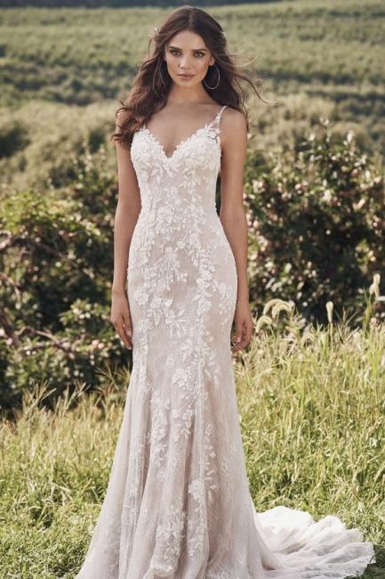 Designer wedding dress mermaid | Wedding dresses with lace online