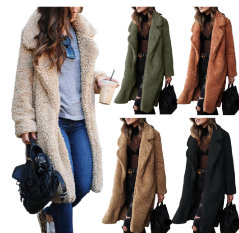 Warm women's coat winter | Elegant women's long jackets