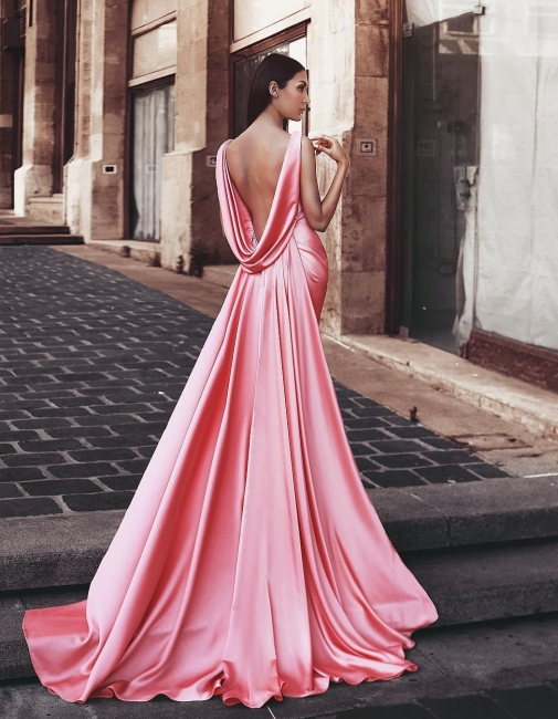 Pink evening dresses long cheap evening dresses prom dresses online