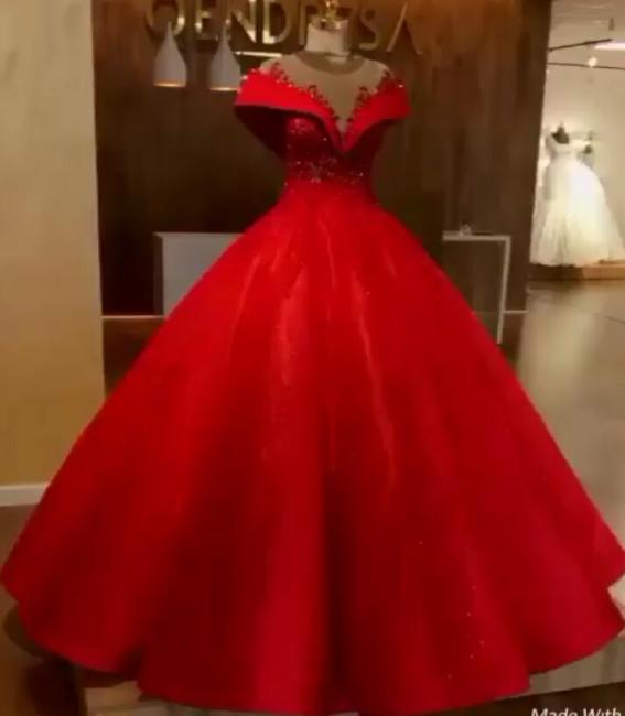 Elegante Rote Abendkleider Lang Günstig Abendmoden Abiballkleider Online