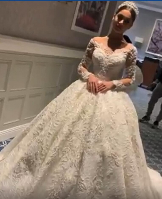 White Wedding Dresses Cheap Princess With Lace Tulle Bridal Wedding Dresses