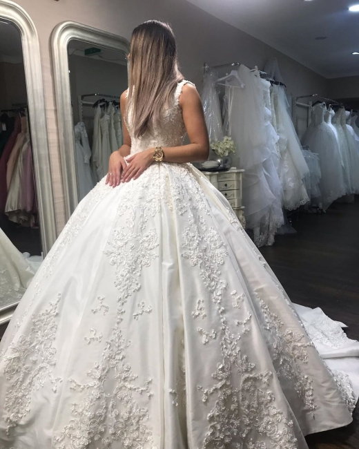 Elegant bridal fashion princess | Wedding dresses with lace cheap