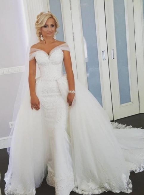 Designer wedding dresses A line | White Wedding Dresses Lace Online